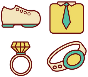 Accessories and jewelry in Spanish