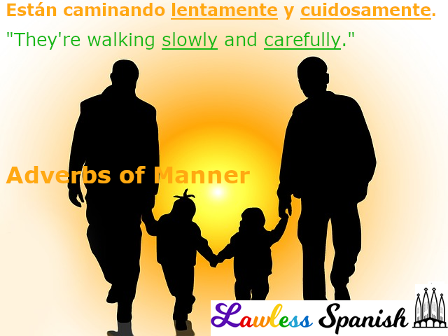 Spanish adverbs of manner