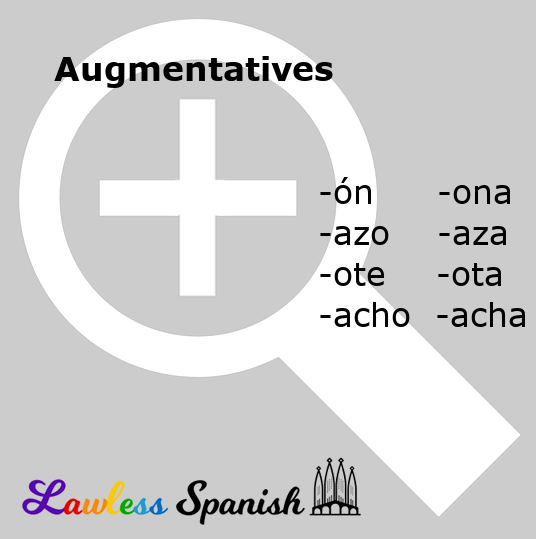 Spanish augmentatives