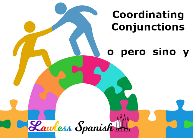 Spanish coordinating conjunctions