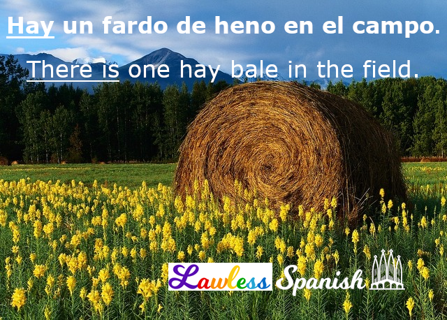 Hay - There is in Spanish