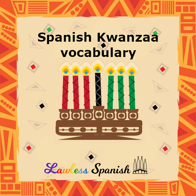 Spanish for Kwanzaa