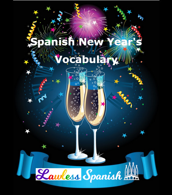Spanish New Year's vocabulary