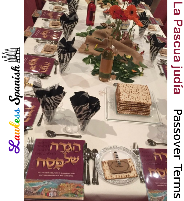 Spanish Passover vocabulary