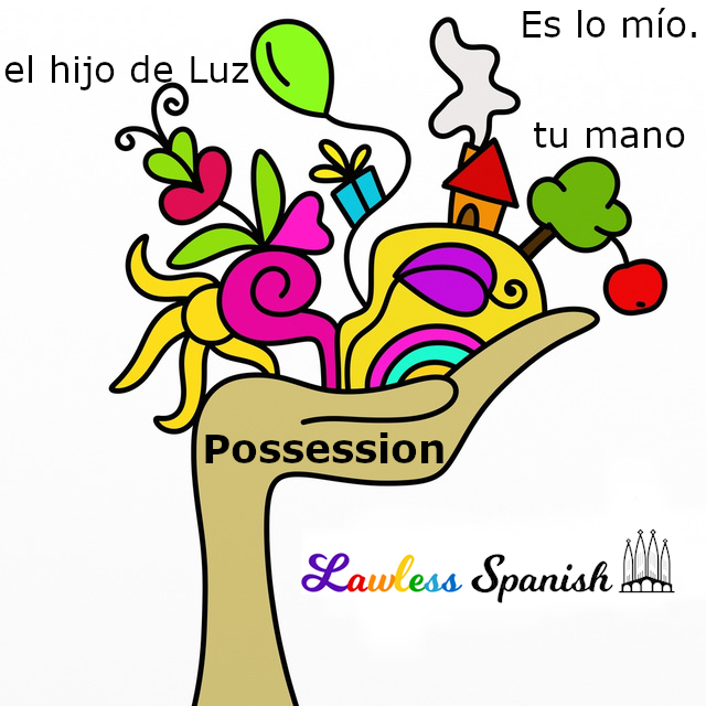 Possession in Spanish