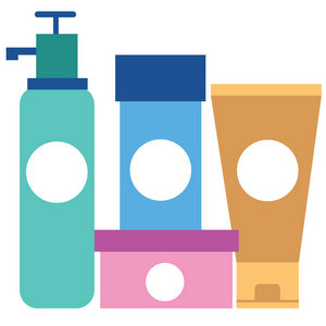 Toiletries and cosmetics in Spanish