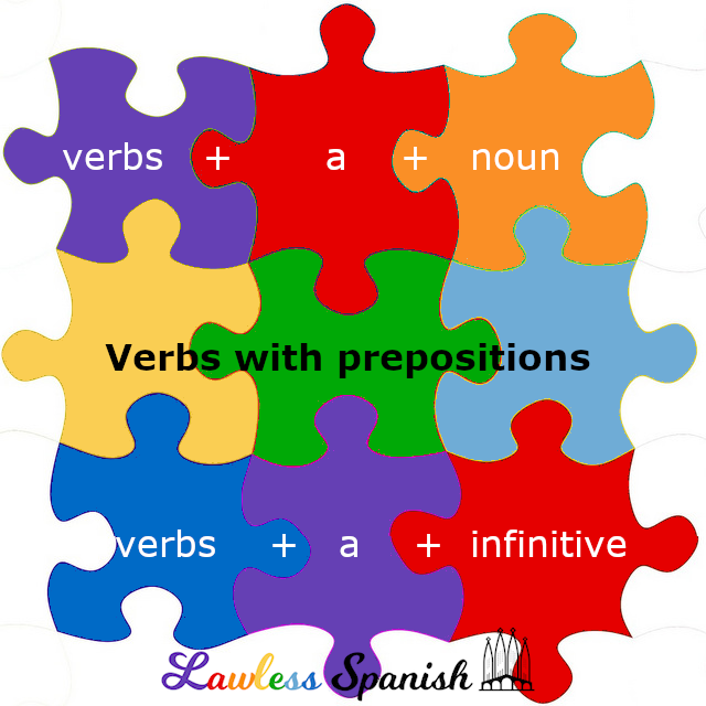 Spanish verbs followed by the preposition a